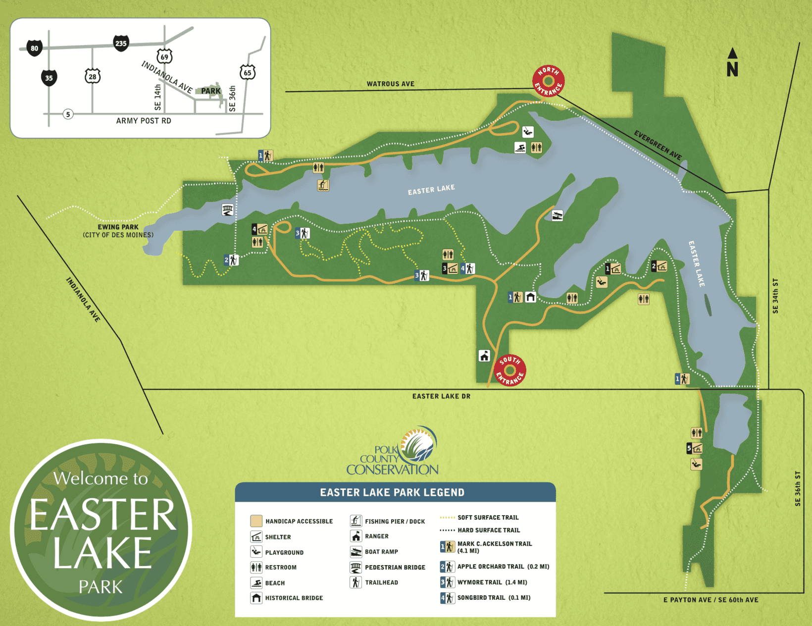 About Easter Lake Park
