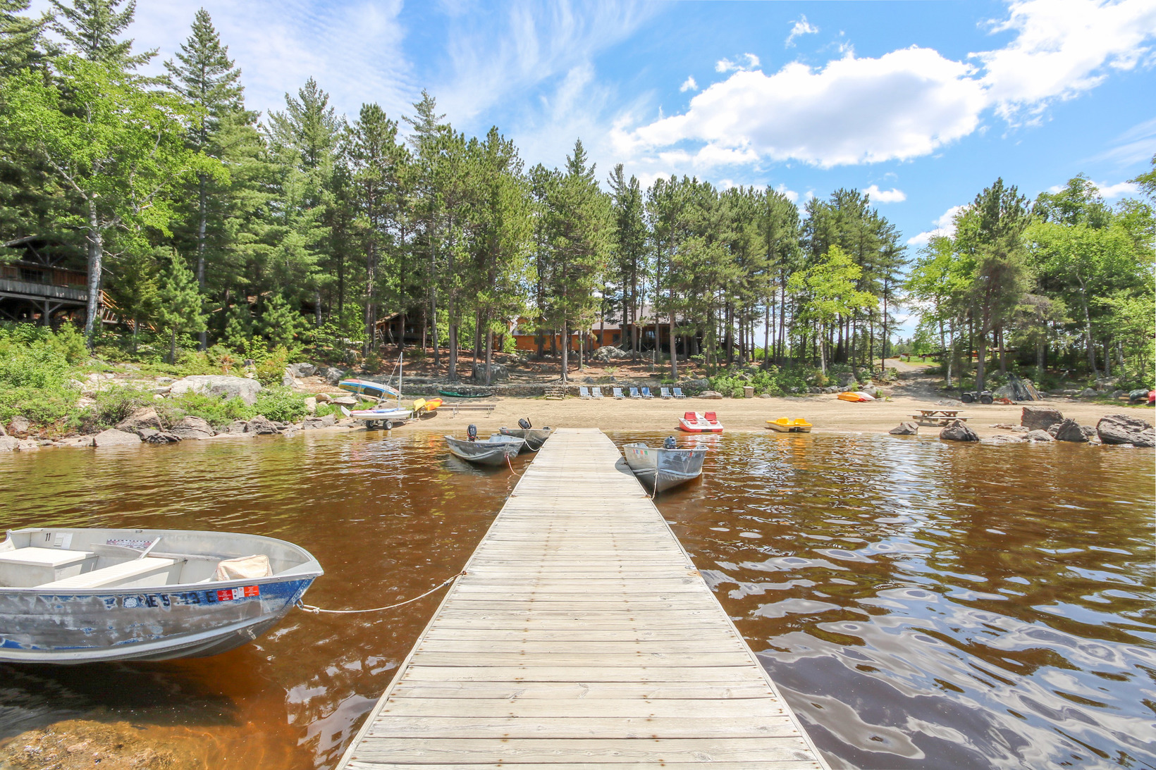 An All Inclusive Island Retreat