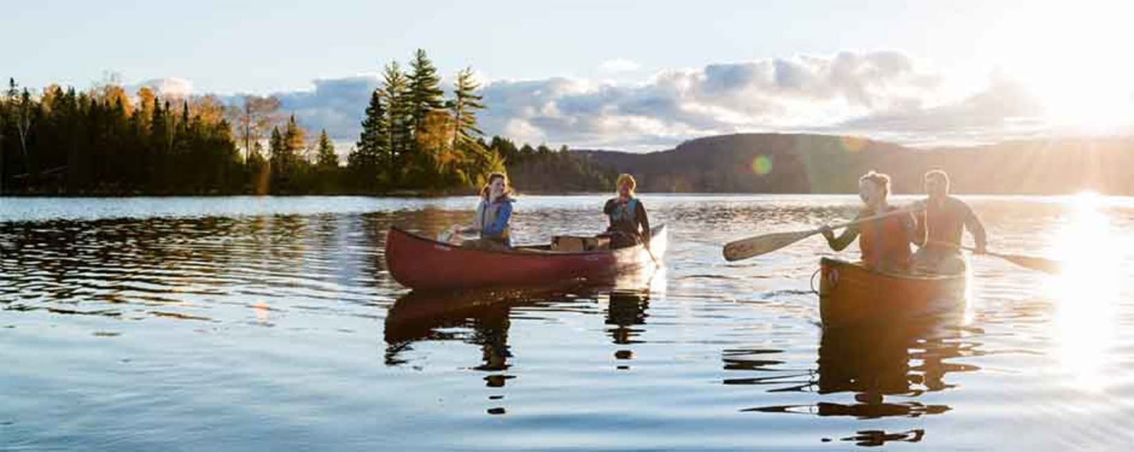 How to get to Algonquin without a car - my long weekend Laskeside Retreat