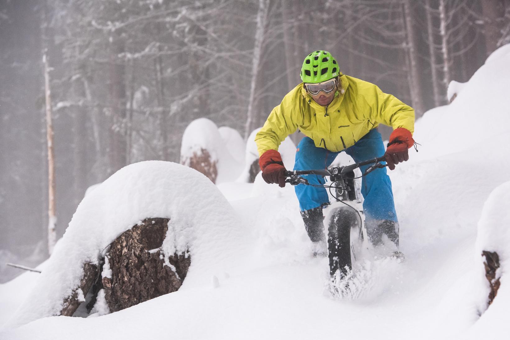 Fat Tire Snow Bike Rentals Squamish