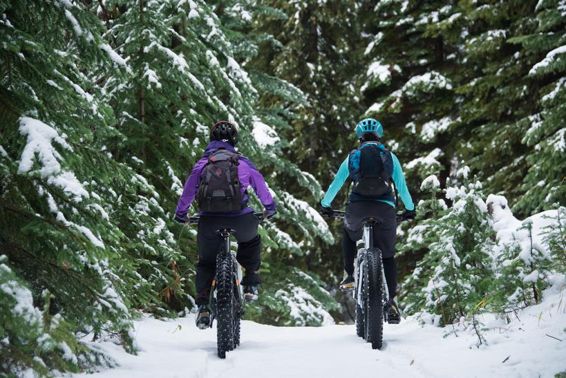 Half Day Fat Tire Snow Bike Rental (4 Hours)