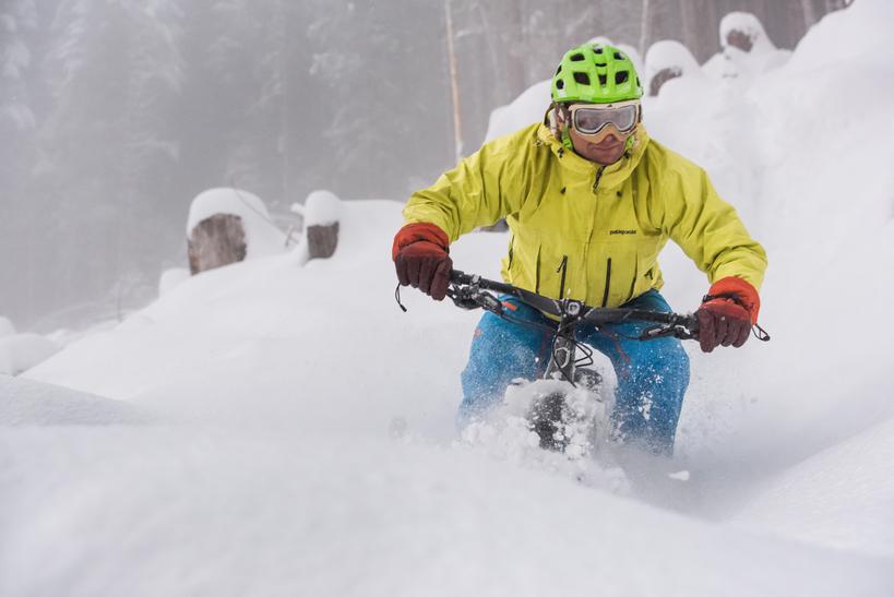 Fat Tire Snow Bike Rentals