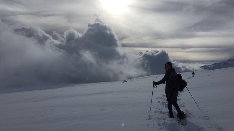 Farellones Snow Hike