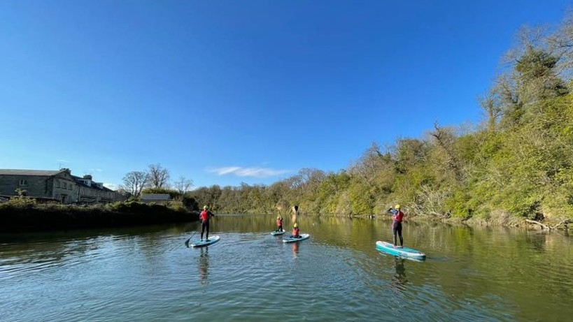 Paddle Boarding River Coquet - Adults and Over 16's