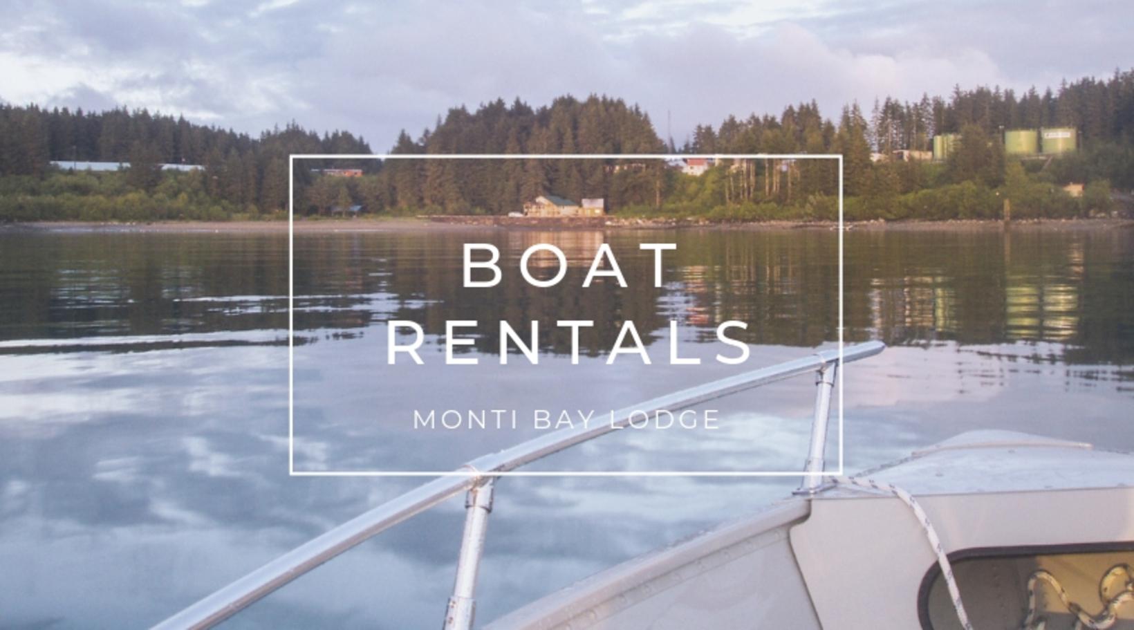 Boat Rental Options at Monti Bay Lodge