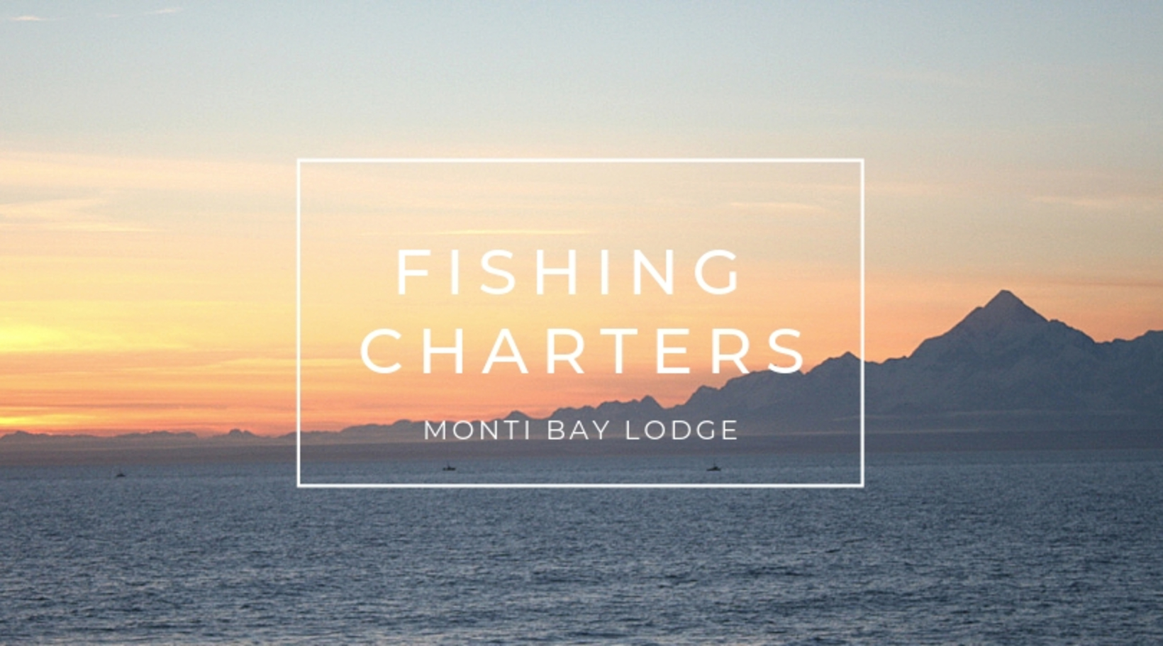 Booking Fishing Charters at Monti Bay Lodge