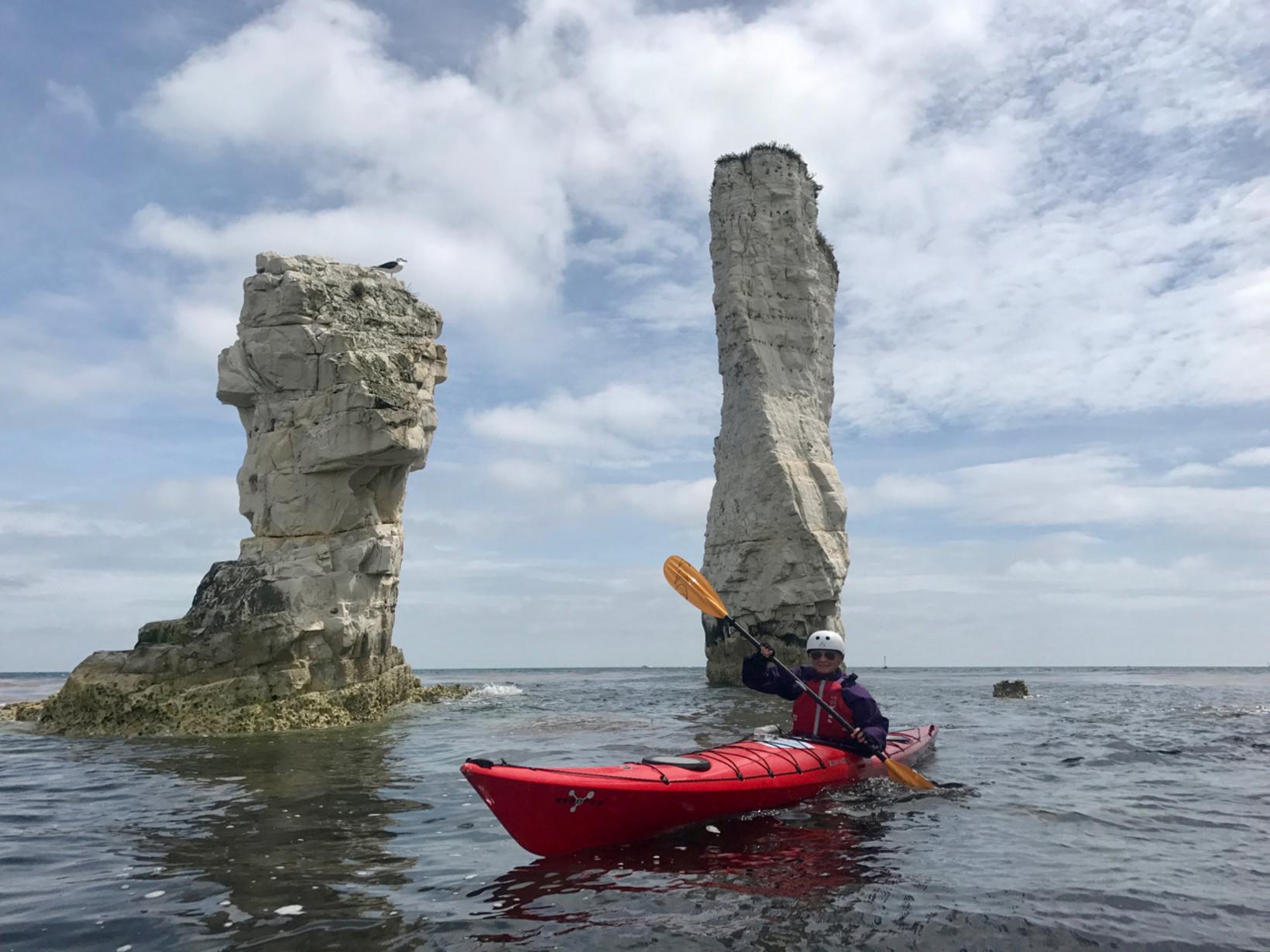 Old Harry Rocks Sea Kayak Trip - Fluid Adventures Ltd