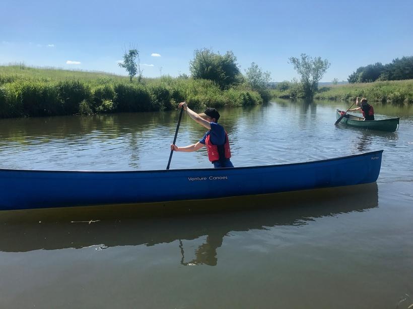 Solo Canoe skills