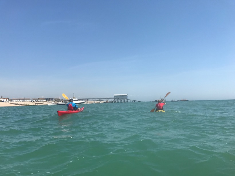 Sea Kayaking near Selsey