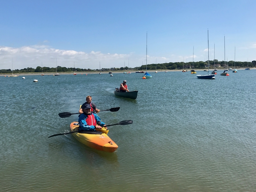 BC FSRT at Itchenor, Chichester Harbour