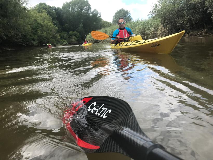 BC 3 Star Touring Kayak on the River Arun