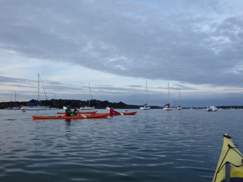 Group Sea Kayaking