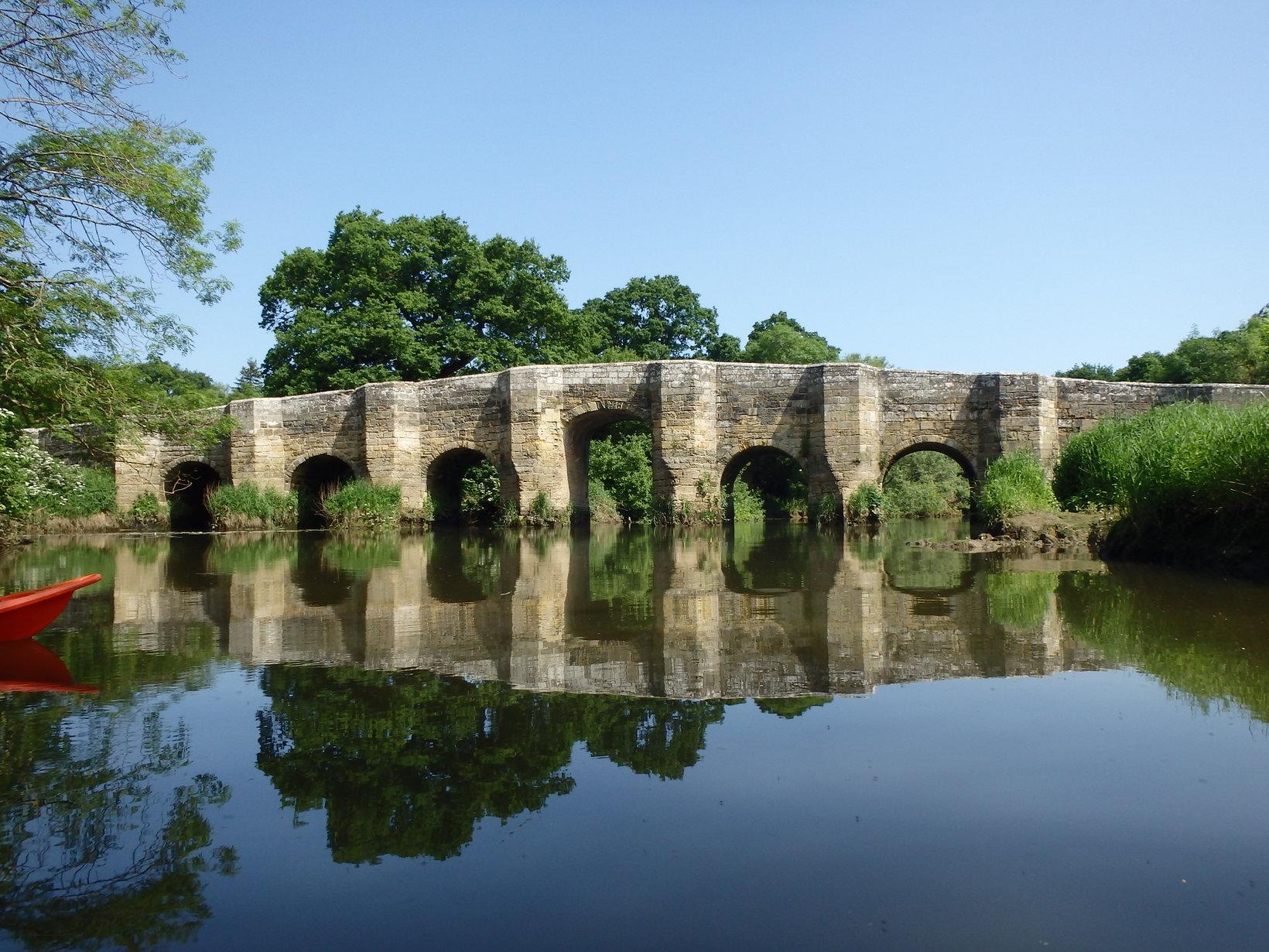 Stopham bridge on the River Arun