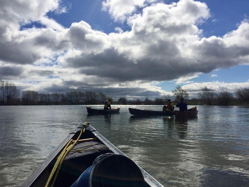 Open Water Canoeing