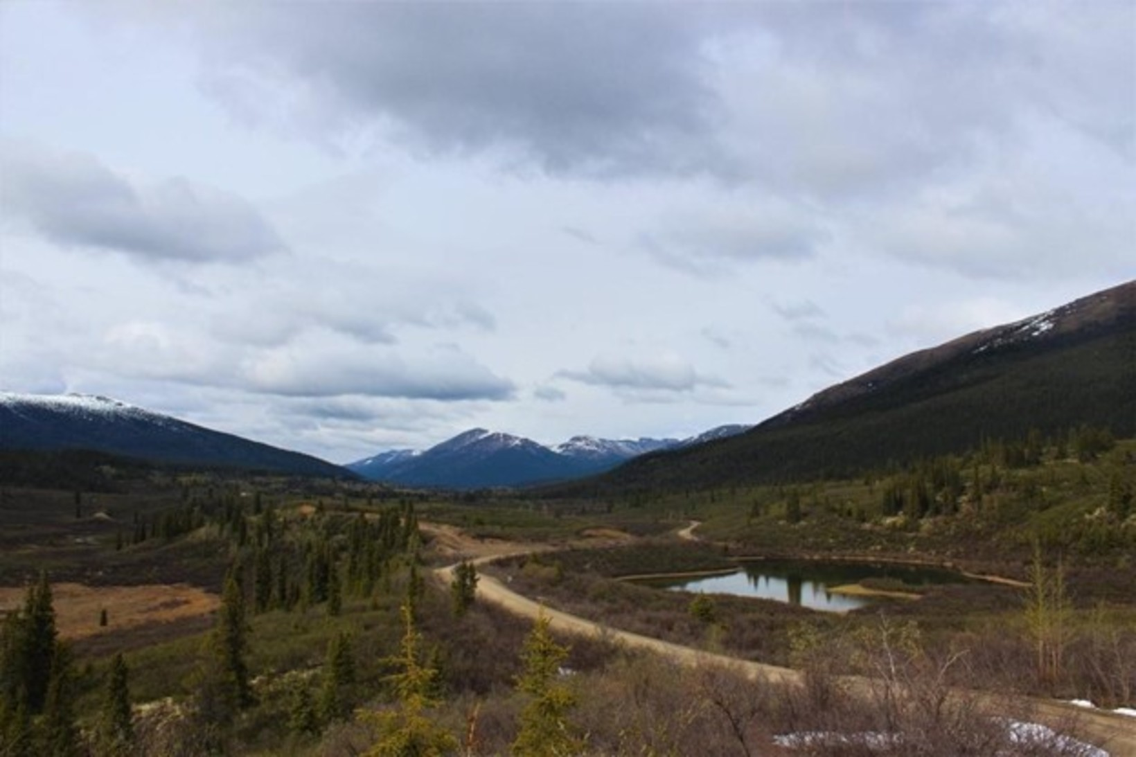 Slow but steady: Driving on the South Canol Road