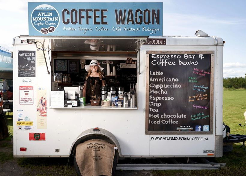 Atlin Mountain Coffee Wagon