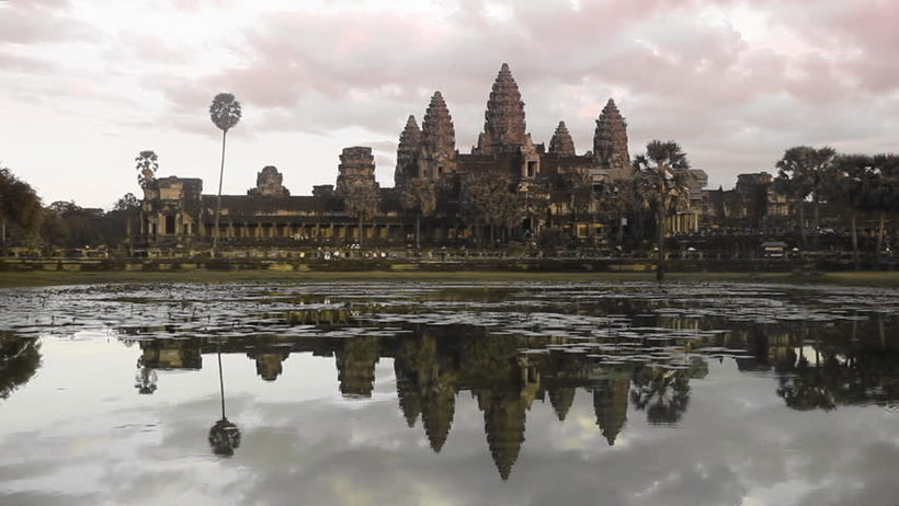 Enigmatic Experience of Angkor Wat Temple Sunset View in Siem Reap