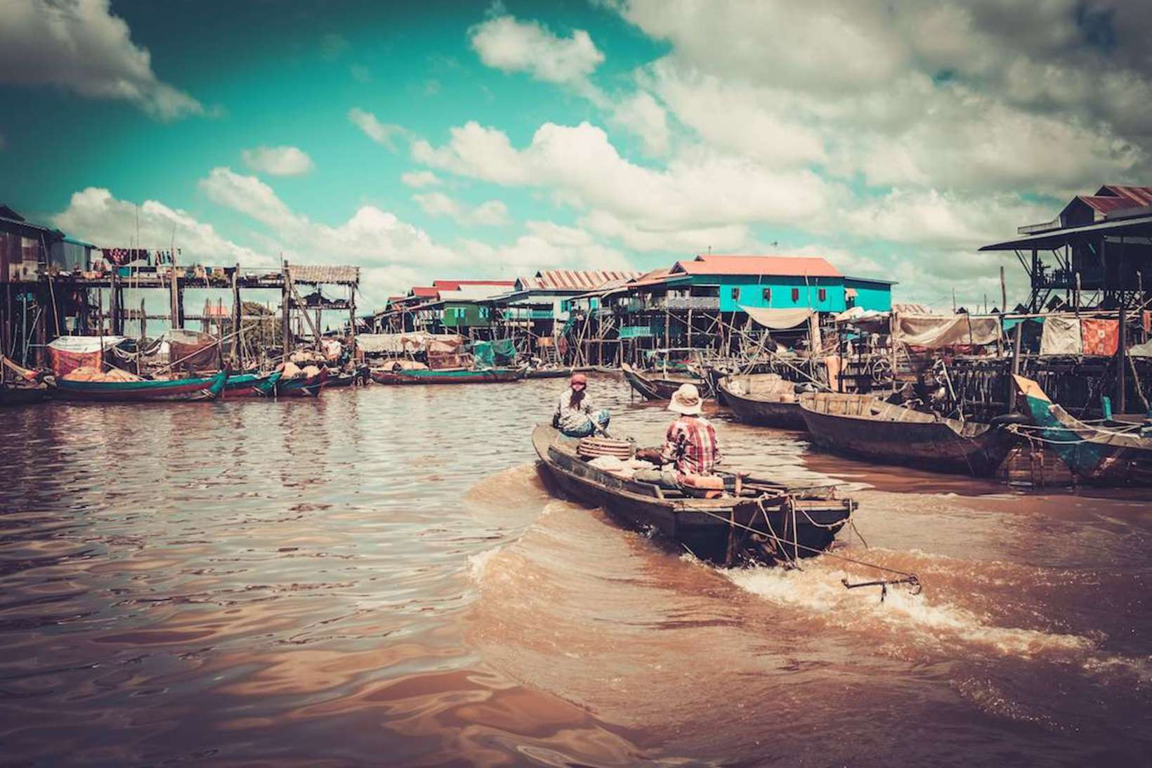 Journey Through Kampong Phluk - Siem Reap Floating Village
