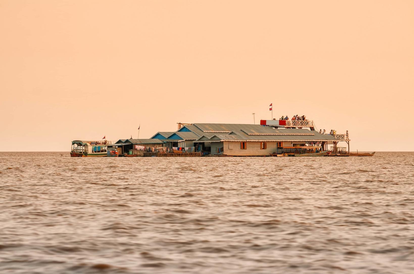 Tonle Sap Lake Tour With Vacation Rental Siem Reap