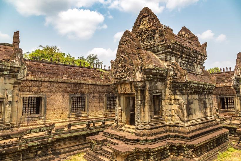 Visiting Banteay Samre Temple