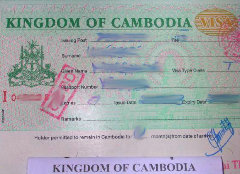 Getting the Cambodia visa for US citizens
