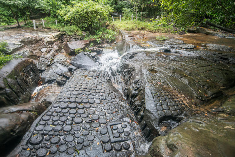 Kbal Spean a Place at Cambodia