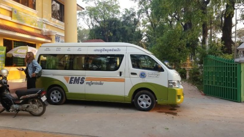 Now Travel Like a Pro with Cambodia Post VIP Van!