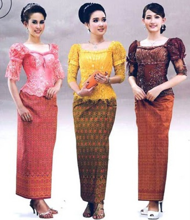 Different Styles of Clothing of Cambodia