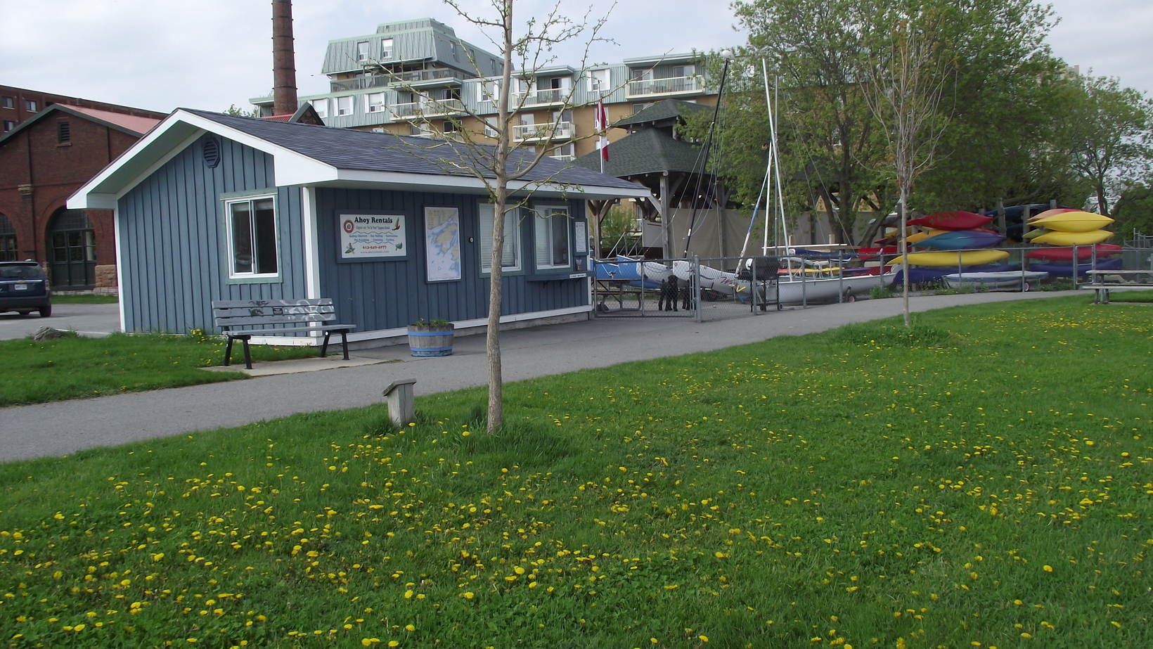 Ahoy Rentals - Waterfront location for all your paddling and sailing fun.