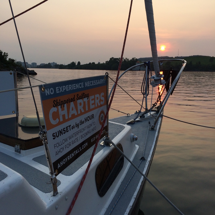 Updated Sailing Charter Page