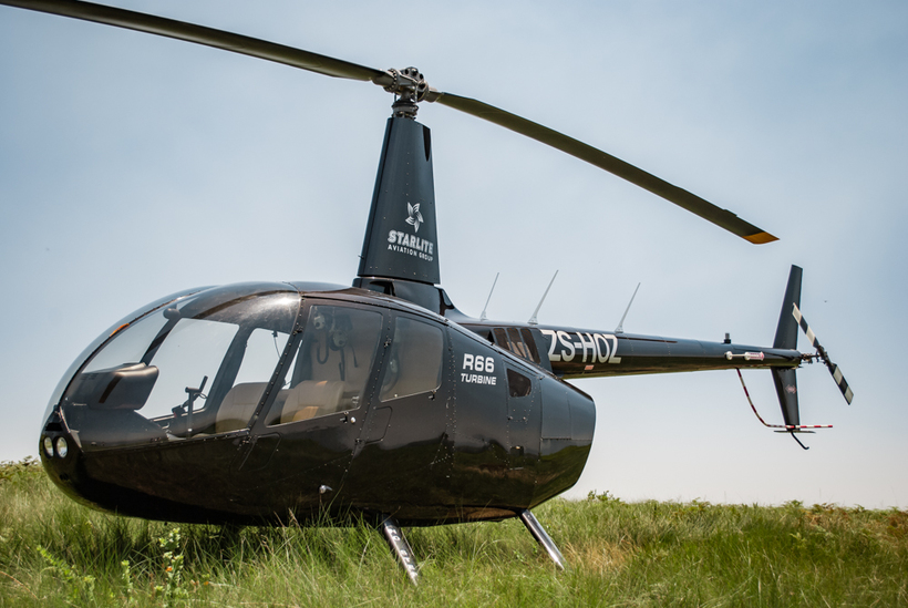 Robinson R66 Helicopter