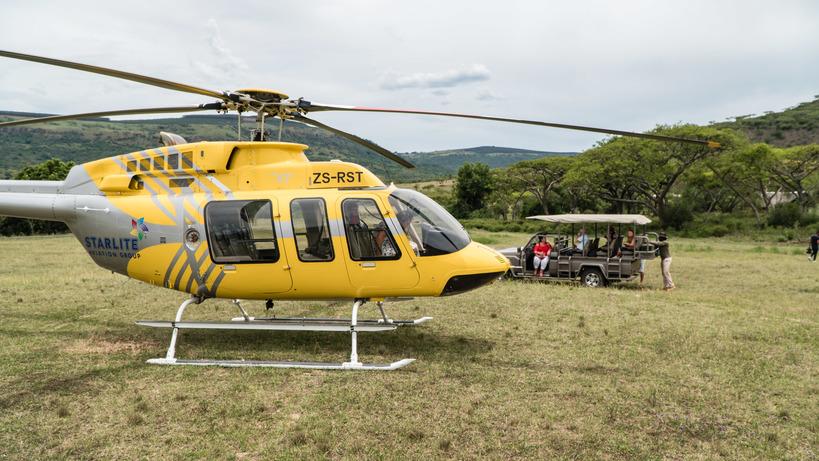 Karkloof Safari Helicopter Flights