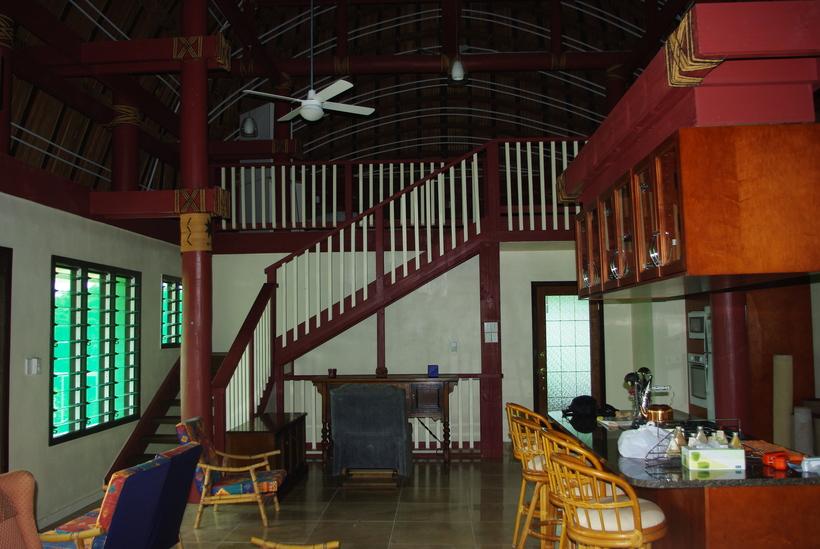Fale Samoa living room
