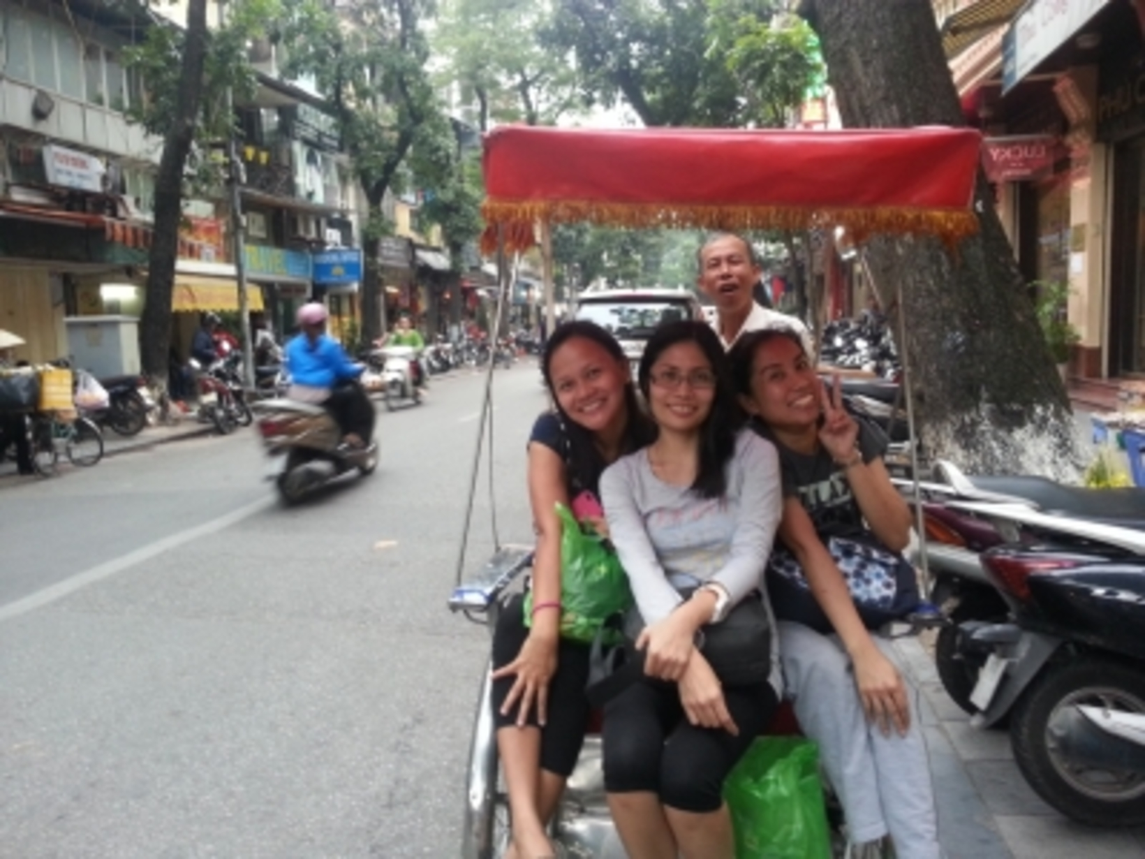 Jen, Bang and Janice from Philippines