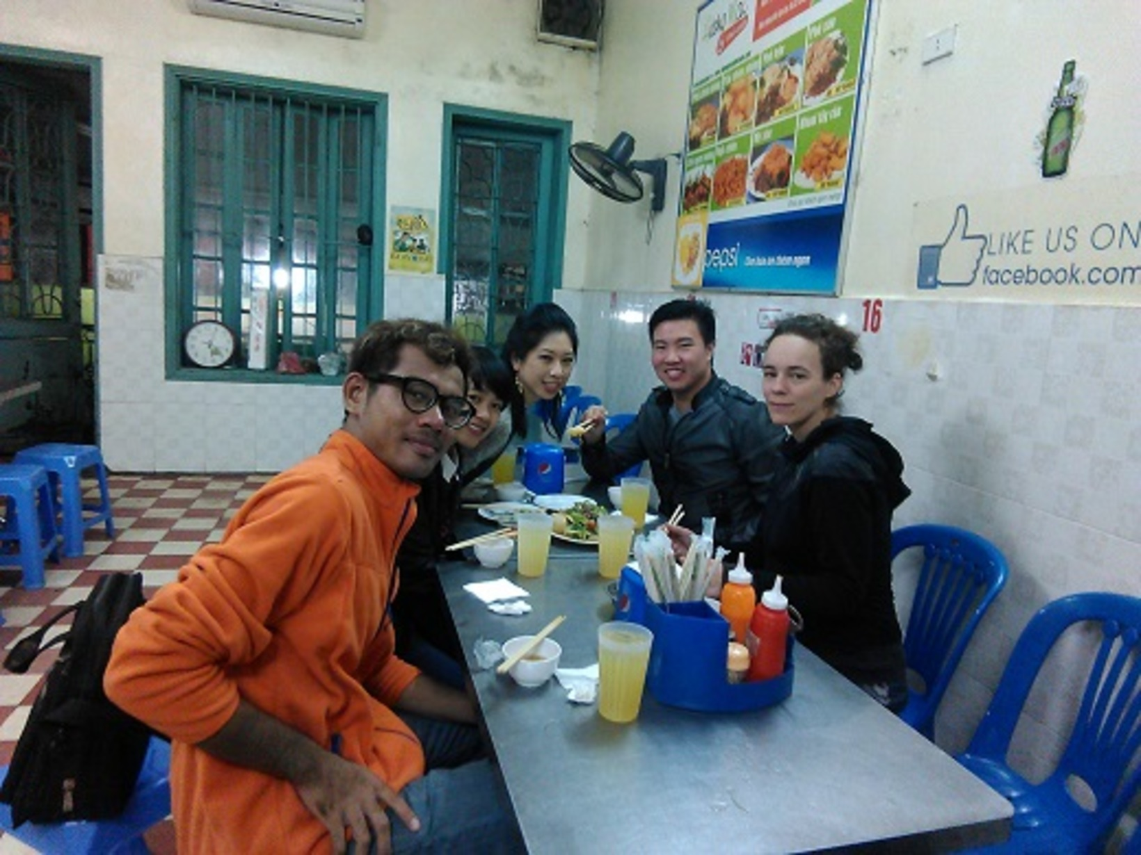 Special food tour of American couple