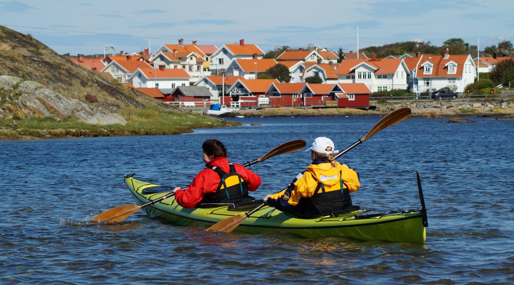 Paddle in Bohuslän