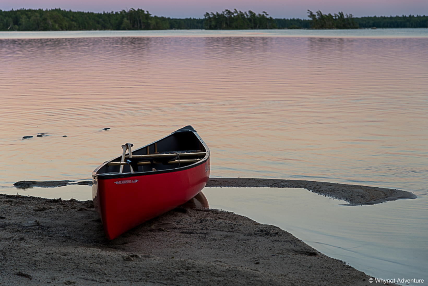 Keji Southern Lakes Canoe Tripping