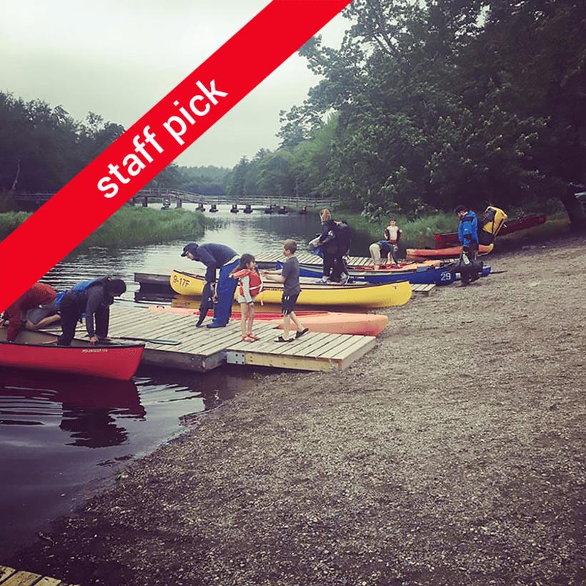 Quickie Canoe Tour