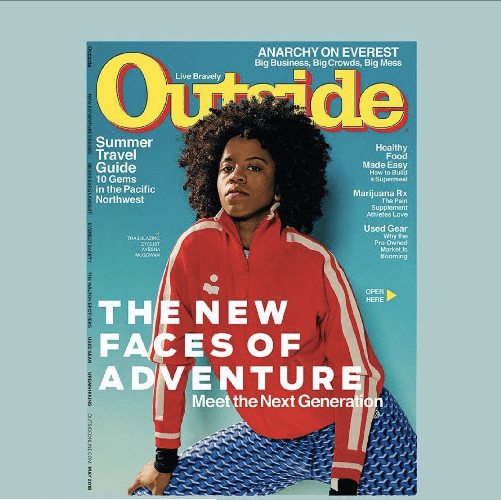 Featured in Outside Magazine
