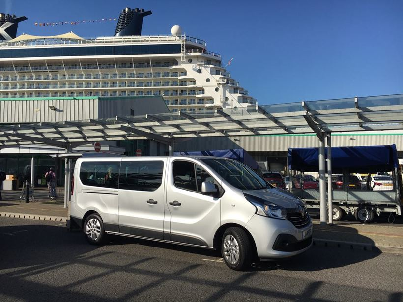 Southampton Cruise Terminal Shared Ride Arrival to Heathrow Airport & Central London Hotel