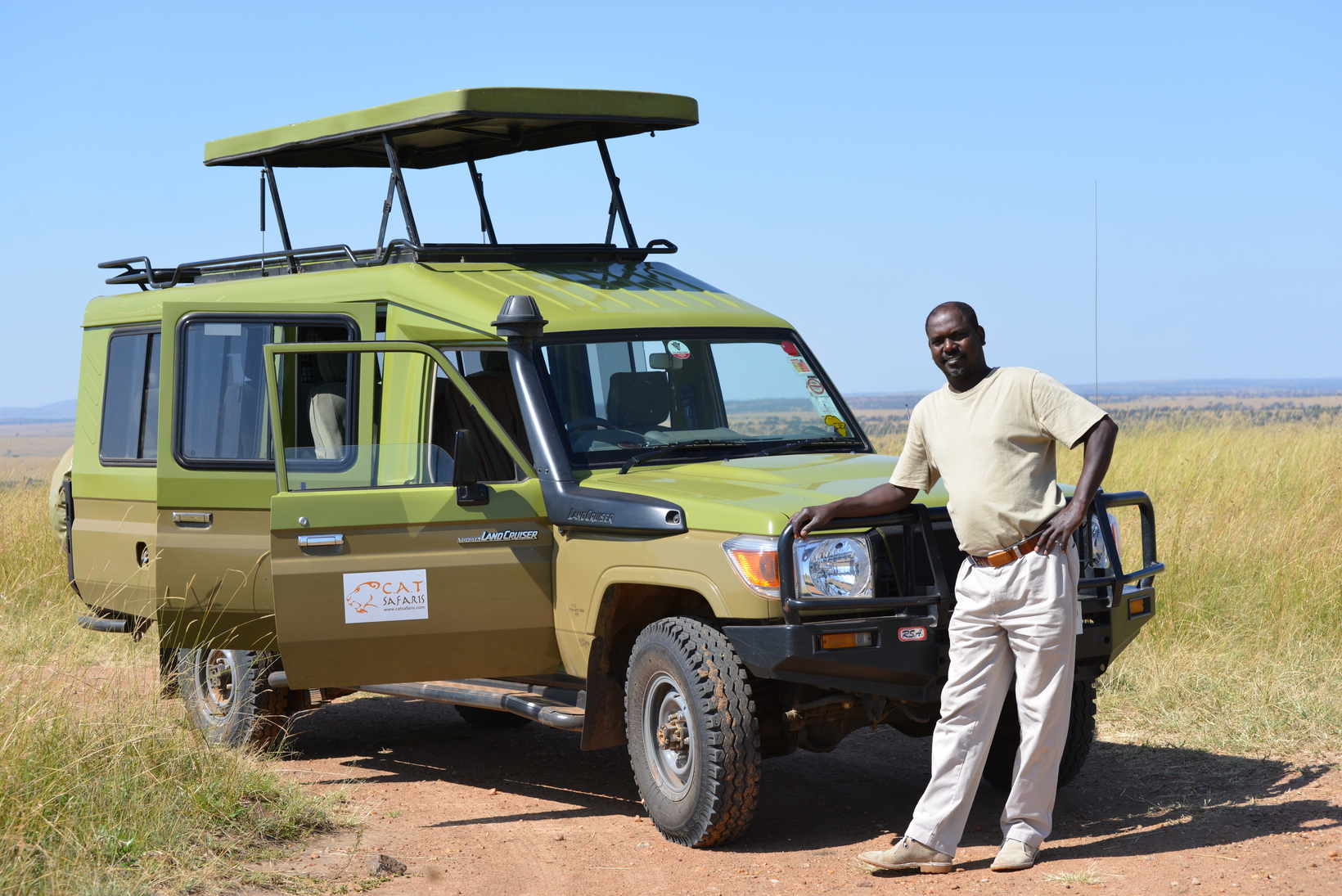 Experience Safari the right way.