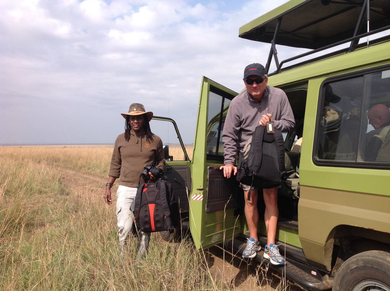If you would like to remind yourself what a real safari should feel like, try us, we'll help you Experience it!