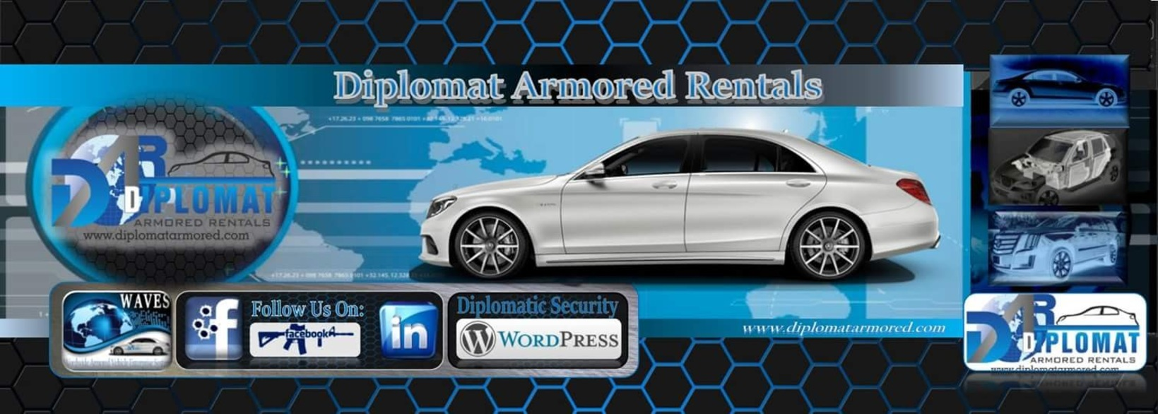 Armored Cars for Rent from Diplomat Armored Rentals