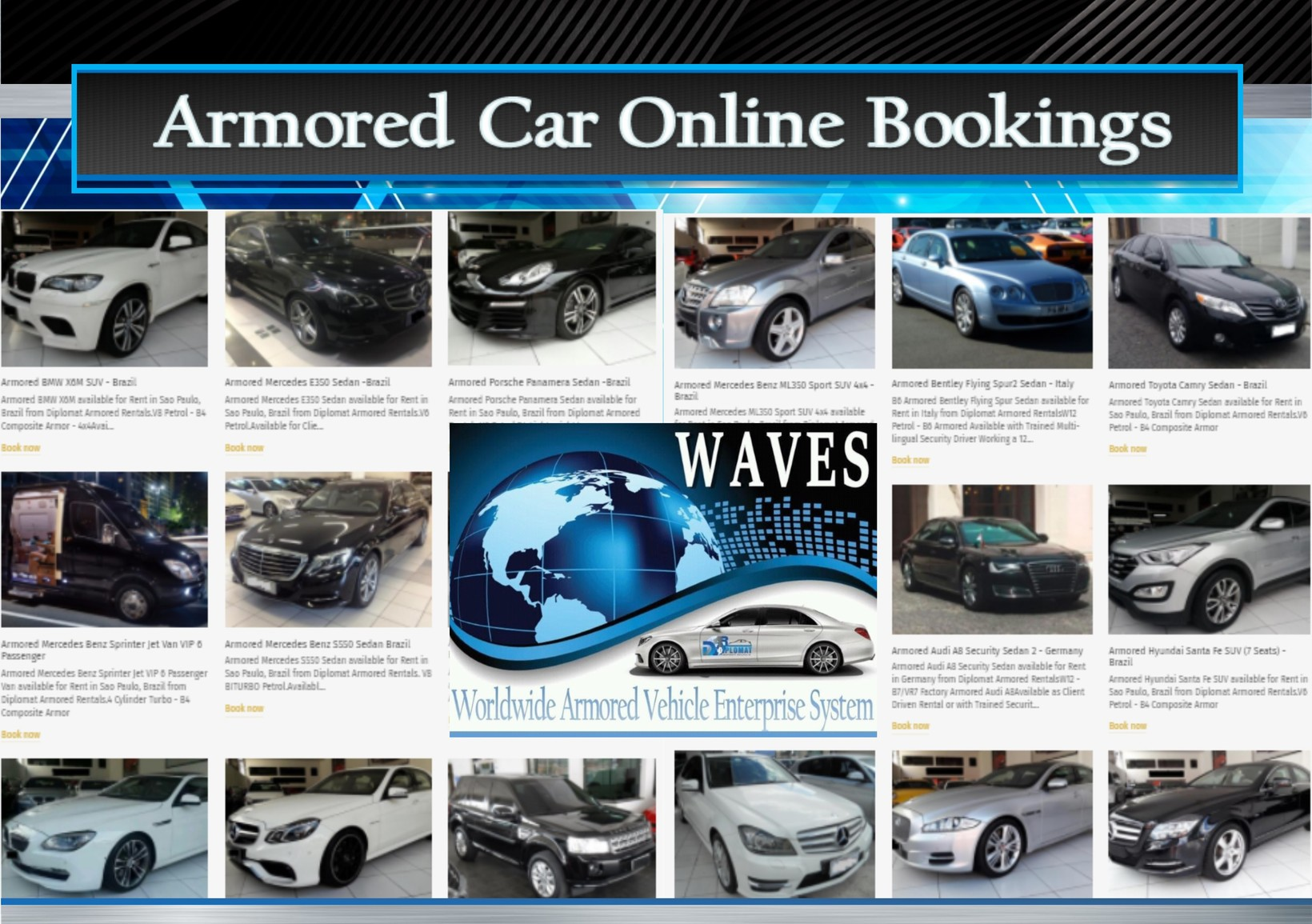 WAVES Worldwide Armored Vehicle Enterprise System - Diplomat