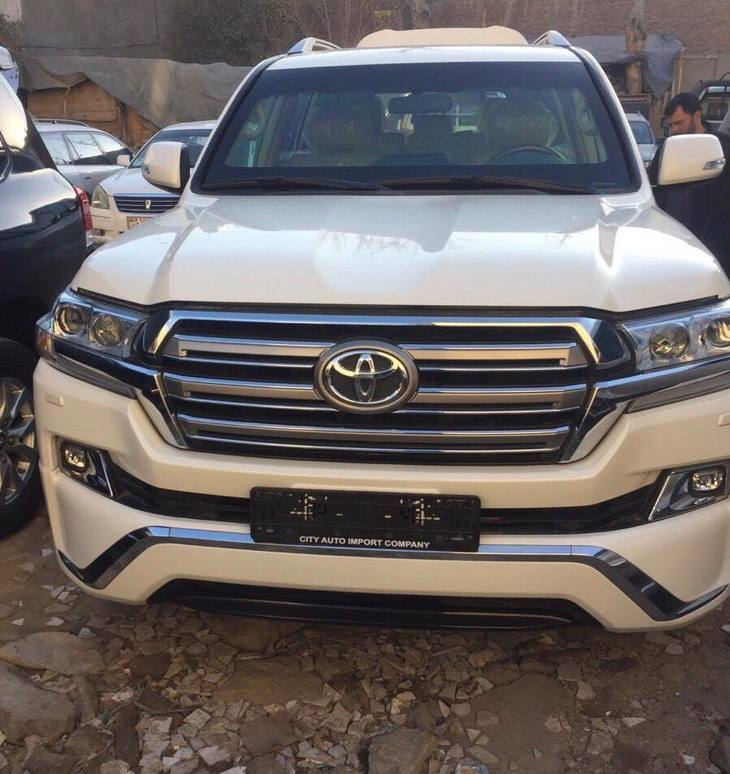 B6 Armored Toyota Land Cruiser Available for Rent in Afghanistan