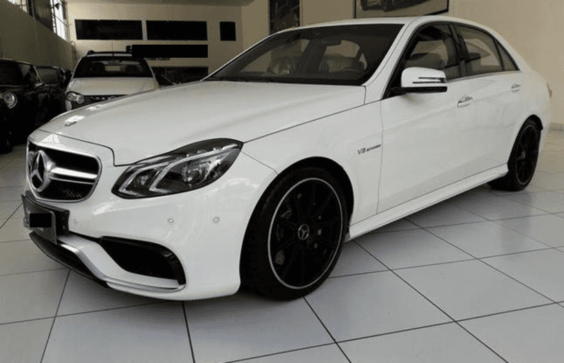 Armored Mercedes E63AMG Available for Rent in Brazil| Armored Car Rental