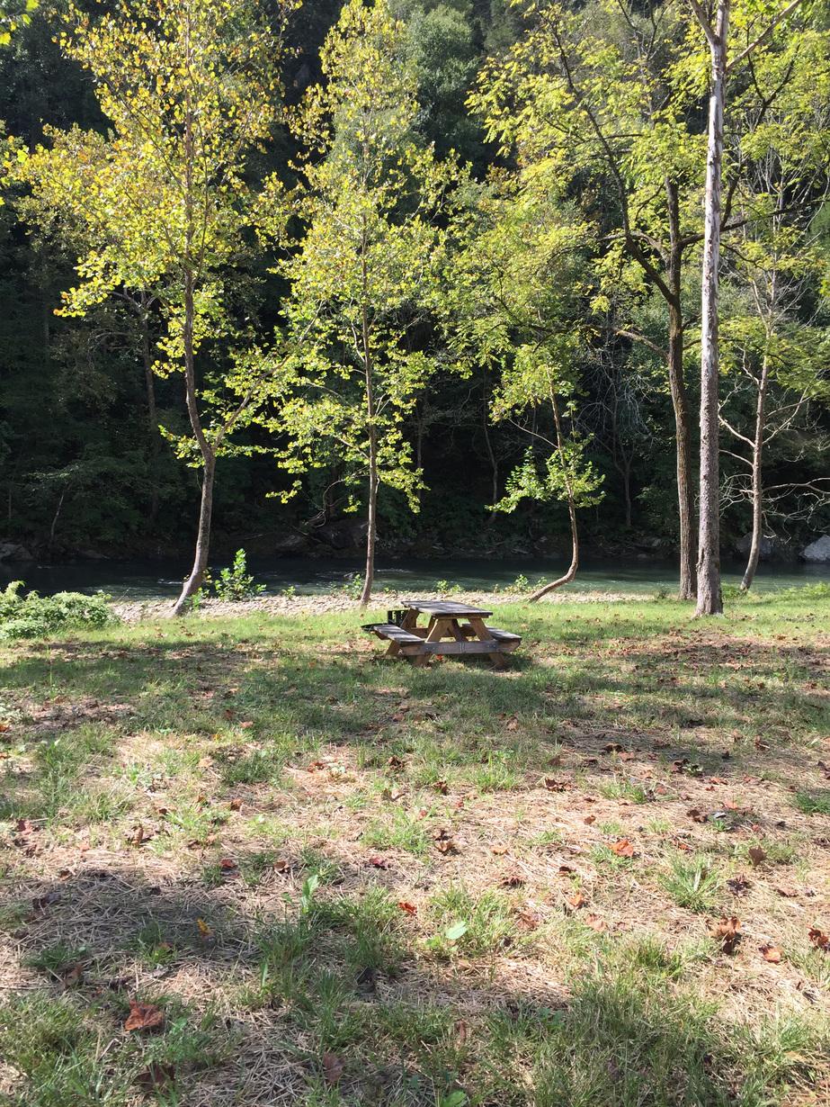 10 Primitive Camp Sites