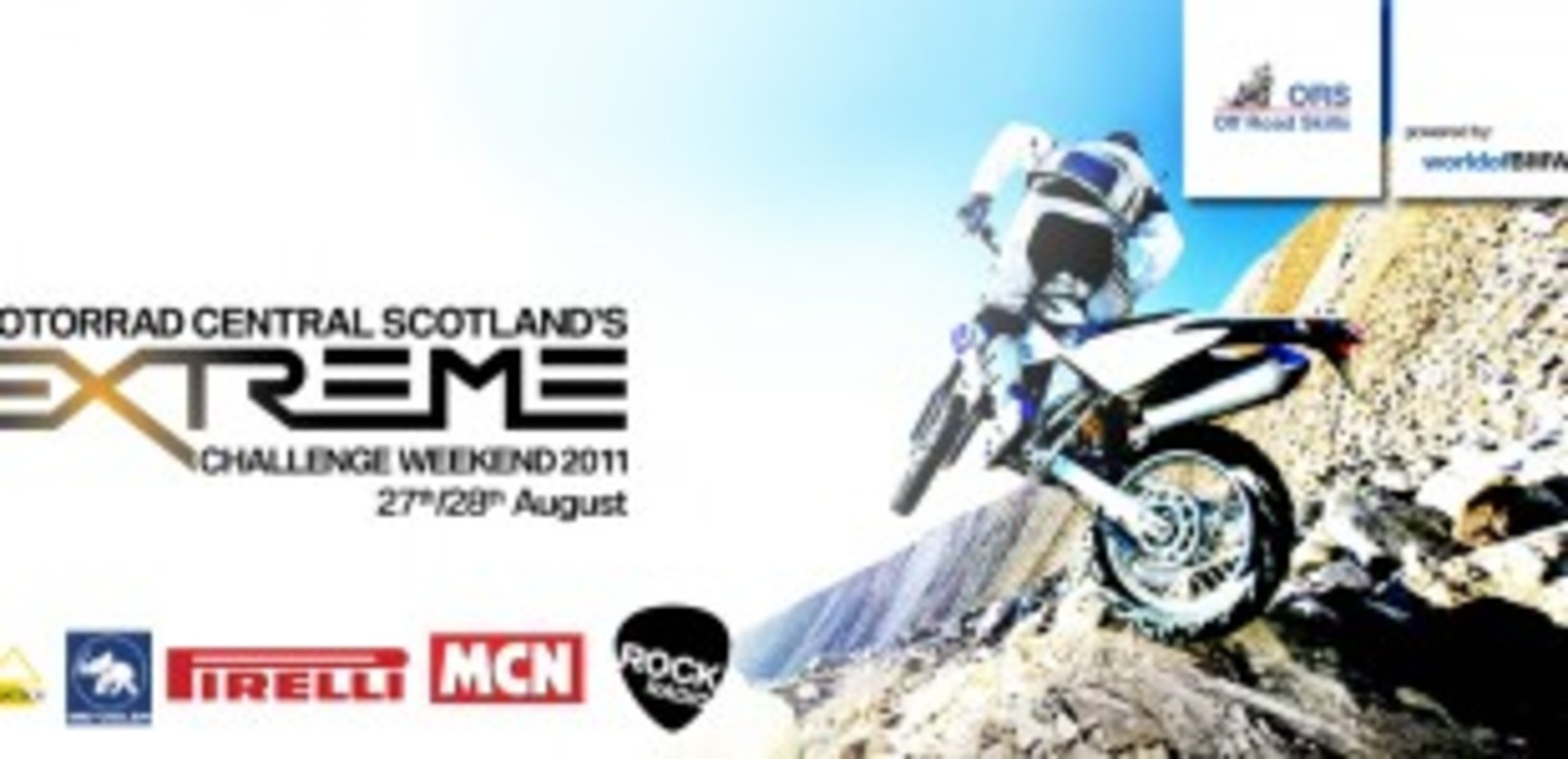 Off Road Skills to be a part of Motorrad Central Extreme Weekend.