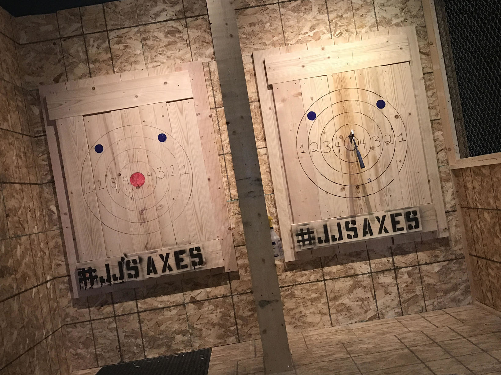 Axe Throwing is here.