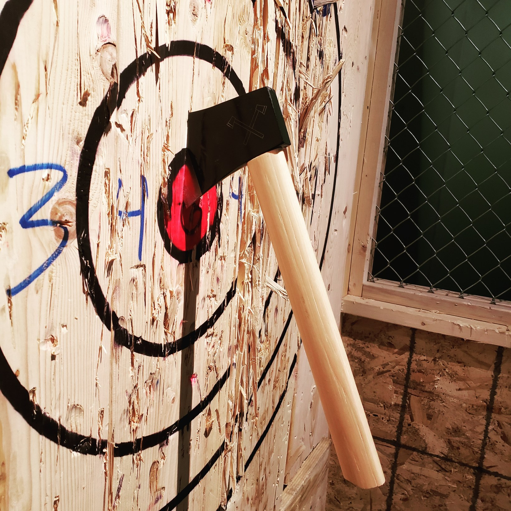 We build Champion Axe Throwers!